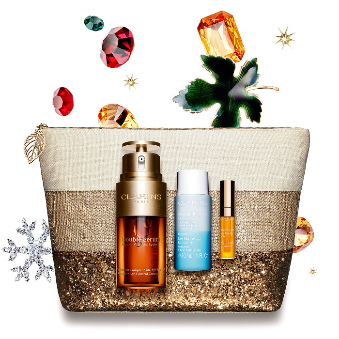 Coffret Double Serum de CLARINS