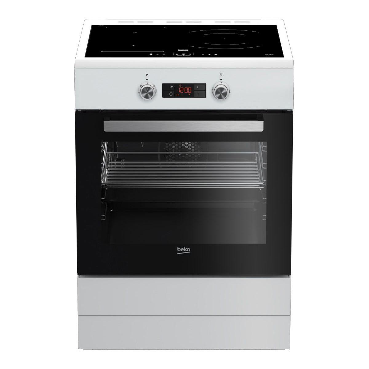 Piano De Cuisson Pas Cher Sauter cuisinière induction beko fse68330wcs pas cher - cuisinière