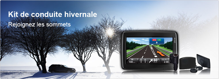 pack hiver pour TomTom
