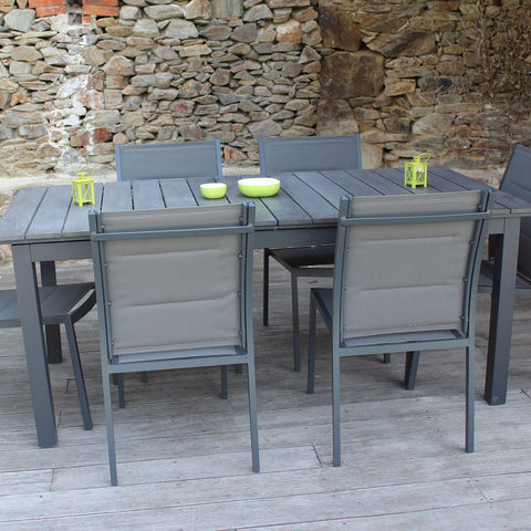 table de jardin alinea. Black Bedroom Furniture Sets. Home Design Ideas