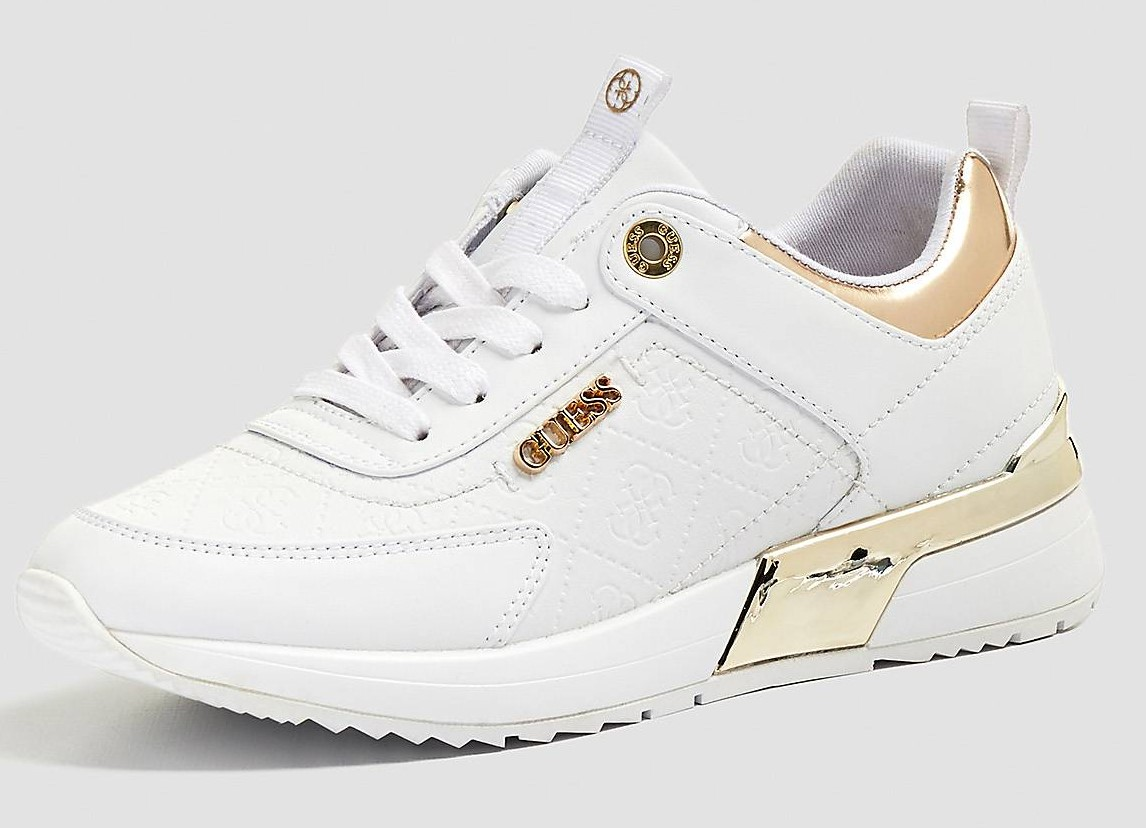 SNEAKERS MARLYN IMPRIME LOGO Blanc GUESS