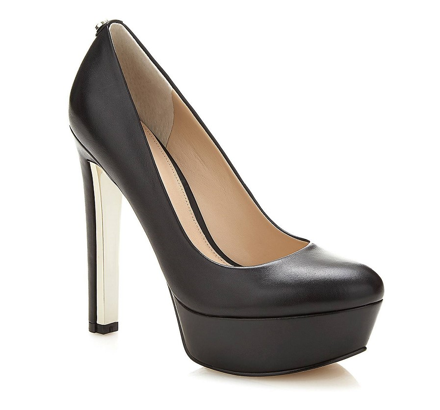 ESCARPIN EAGER CUIR VERITABLE Guess