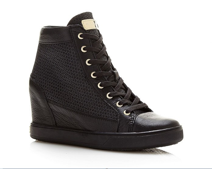 SNEAKERS COMPENSEES FURIA PAILLETTE Guess, Baskets Femme Guess