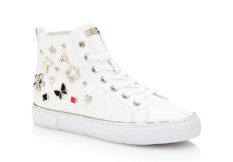 SNEAKER GARBILLE AVEC APPLICATIONS Guess