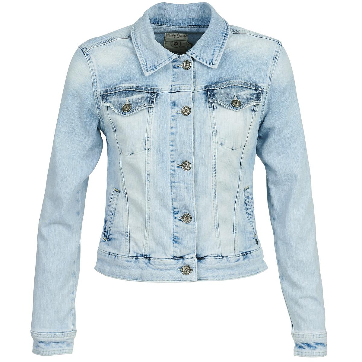 Veste en jean bleu clair homme pas cher