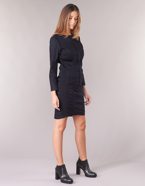 G-Star Raw MOTAC SLIM DRESS Bleu Dark Aged