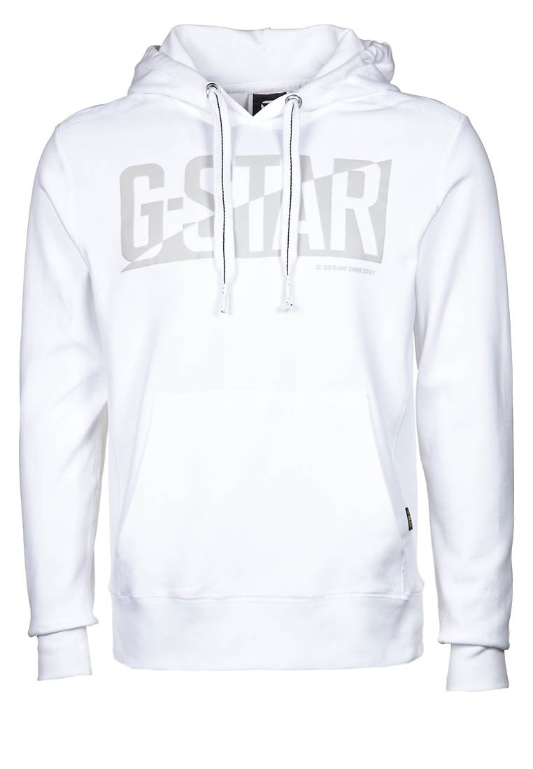 Sweat Homme Zalando, G Star DIVE Sweat à capuche blanc