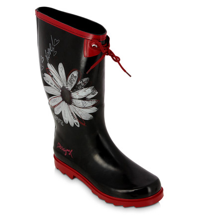 bottes de pluie everybody desigual bottes de pluie femme galeries lafayette ventes pas. Black Bedroom Furniture Sets. Home Design Ideas