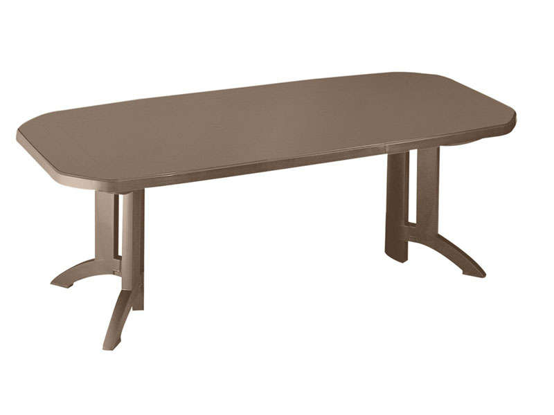 Table allonges vega table de jardin conforama ventes for Chemin de table conforama