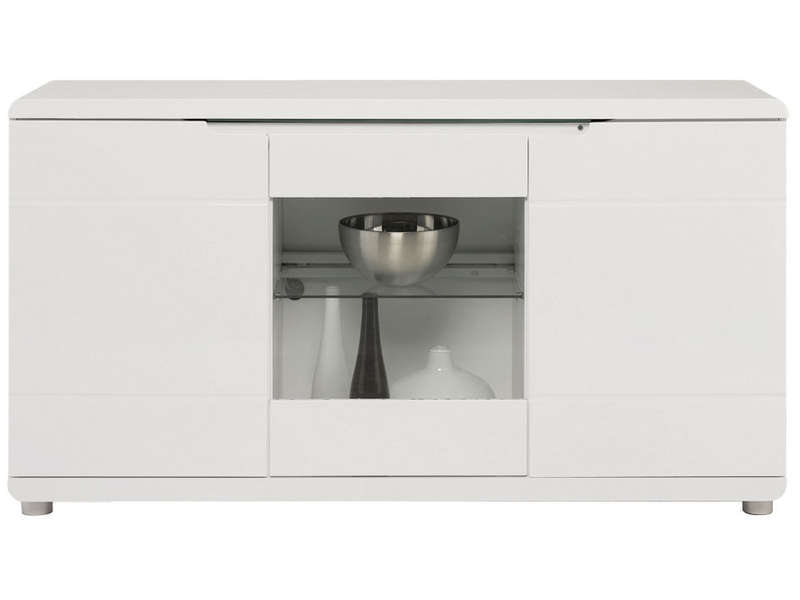 Soldes Buffet Conforama - Buffet BEL AIR coloris blanc
