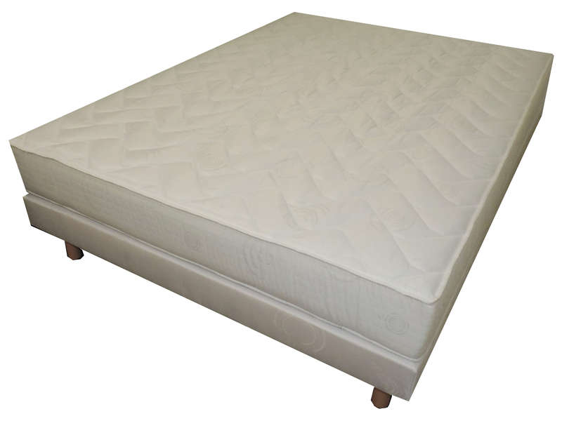 matelas sommier 140x190 cm volupnight by conforama diamant ventes pas. Black Bedroom Furniture Sets. Home Design Ideas