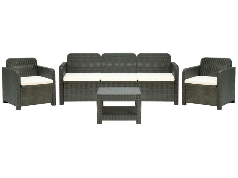 salon de jardin positano pas cher salon de jardin conforama ventes pas. Black Bedroom Furniture Sets. Home Design Ideas