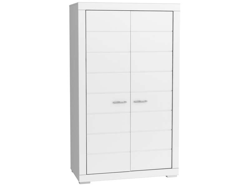 armoire enfant snow coloris blanc armoire enfant. Black Bedroom Furniture Sets. Home Design Ideas