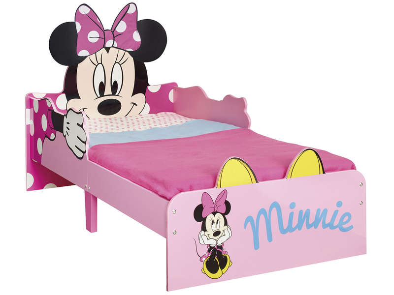 Lit enfant 70x140 cm MINNIE MOUSE - Lit Enfant Conforama