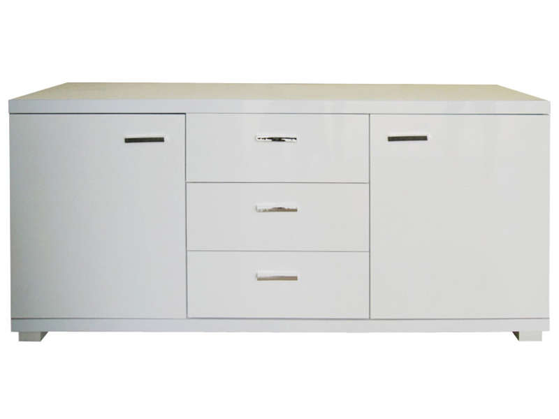 Buffet 2 portes 3 tiroirs sambala buffet conforama for Meuble 2 porte conforama
