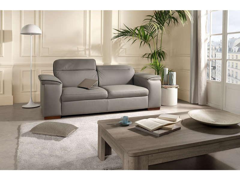 canap fixe 3 places lewis coloris gris canap conforama. Black Bedroom Furniture Sets. Home Design Ideas