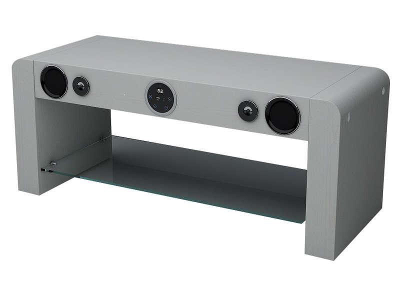 Meuble Tv Sound Vision Soundstand10w Meuble Tv Conforama
