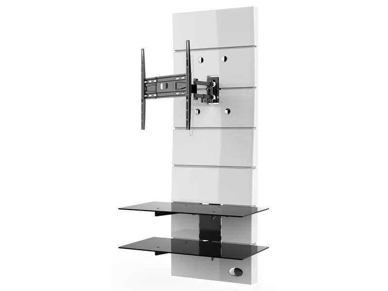 meuble tv meliconi ghost design 3000 r blanc meuble tv. Black Bedroom Furniture Sets. Home Design Ideas