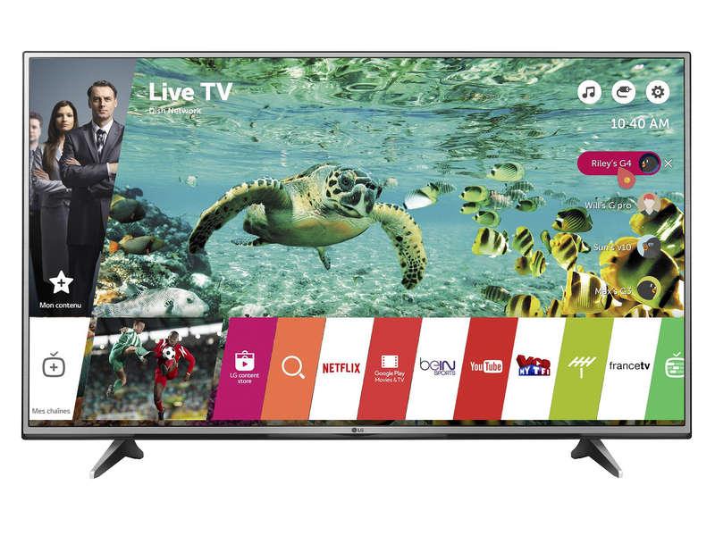 Téléviseur UHD 4K 139 cm LG 55UH615V