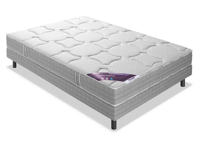 Matelas Latex 140x200 cm DUNLOPILLO BLACK JACK - Conforama