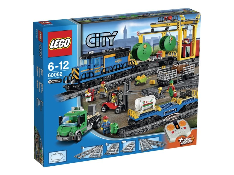 lego city le train de marchandises 60052 jouets conforama ventes pas. Black Bedroom Furniture Sets. Home Design Ideas