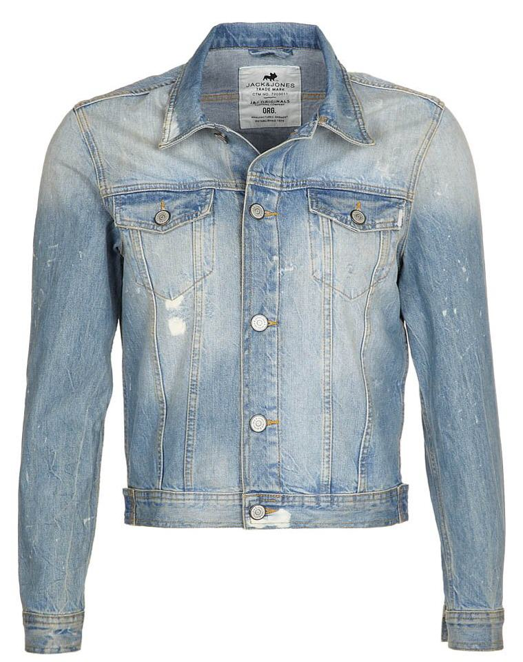 veste en jean zalando veste en jean jack jones bleu ventes pas. Black Bedroom Furniture Sets. Home Design Ideas