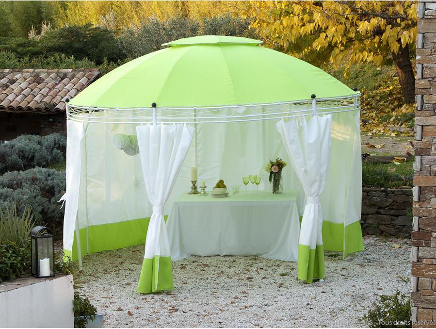 tonnelle autoport e hexagonale hedera pink tree tonnelle. Black Bedroom Furniture Sets. Home Design Ideas