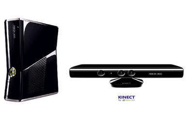 Promo Console Xbox Darty - Console Xbox 360 MICROSOFT + KINECT + Kinect Adventures - Prix 299 euros darty.com