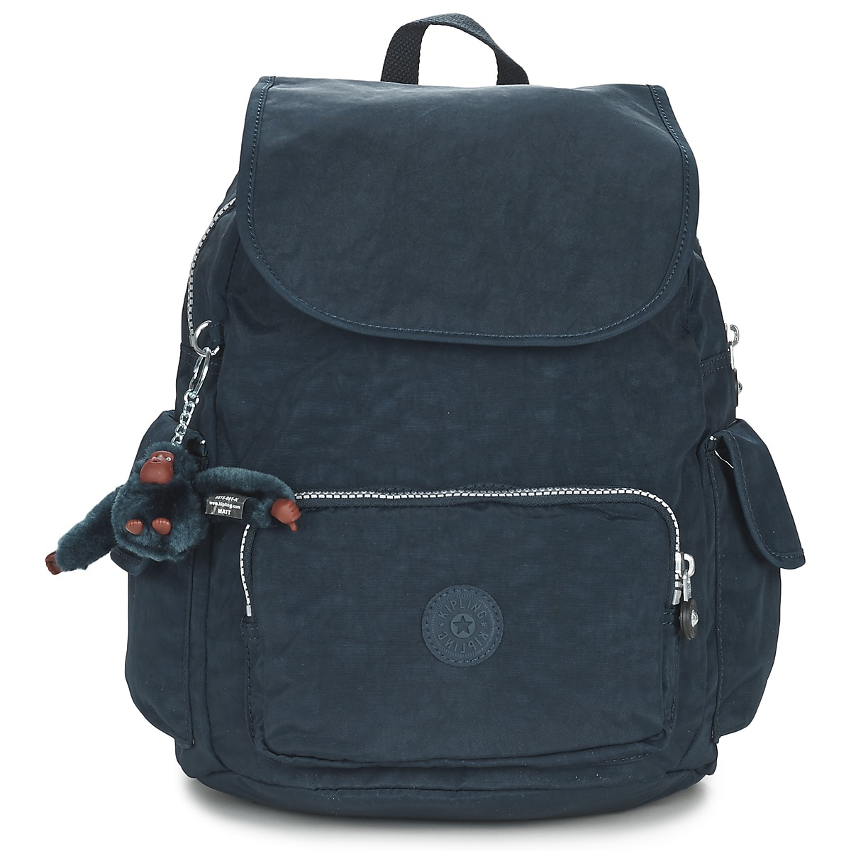 Kipling CITY PACK S True Blue pas cher, Sac à Dos Spartoo