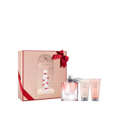 coffret lanc me la vie est belle eau de parfum coffret parfum femme marionnaud ventes pas. Black Bedroom Furniture Sets. Home Design Ideas