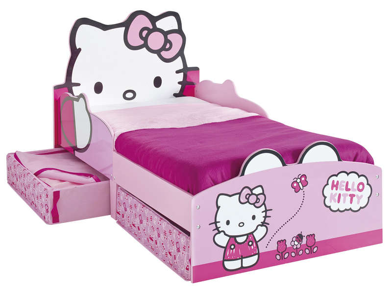 promo lit enfant hello kitty lit enfant conforama. Black Bedroom Furniture Sets. Home Design Ideas