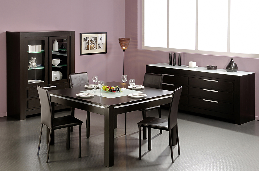 salle manger meubles and co s jour contemporain. Black Bedroom Furniture Sets. Home Design Ideas