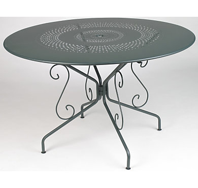 Tables de jardin camif table pliante fermob montmartre - Table ronde pliante pas cher ...