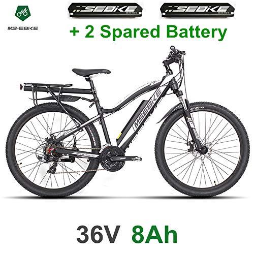 Vélo électrique MSEBIKE 21 vitesses 27,5 pouces