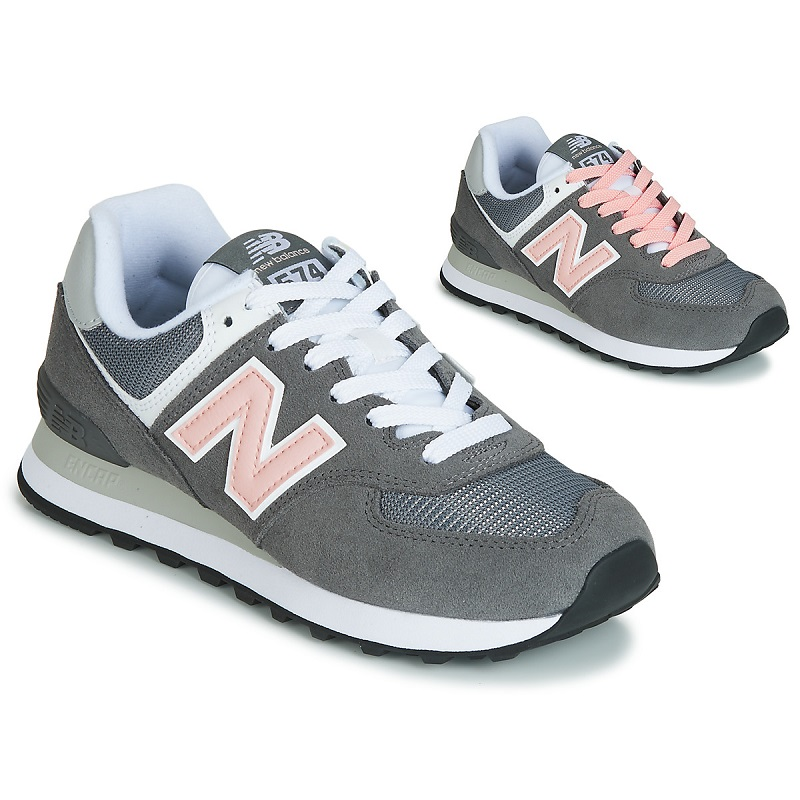 basket new balance 574 grises