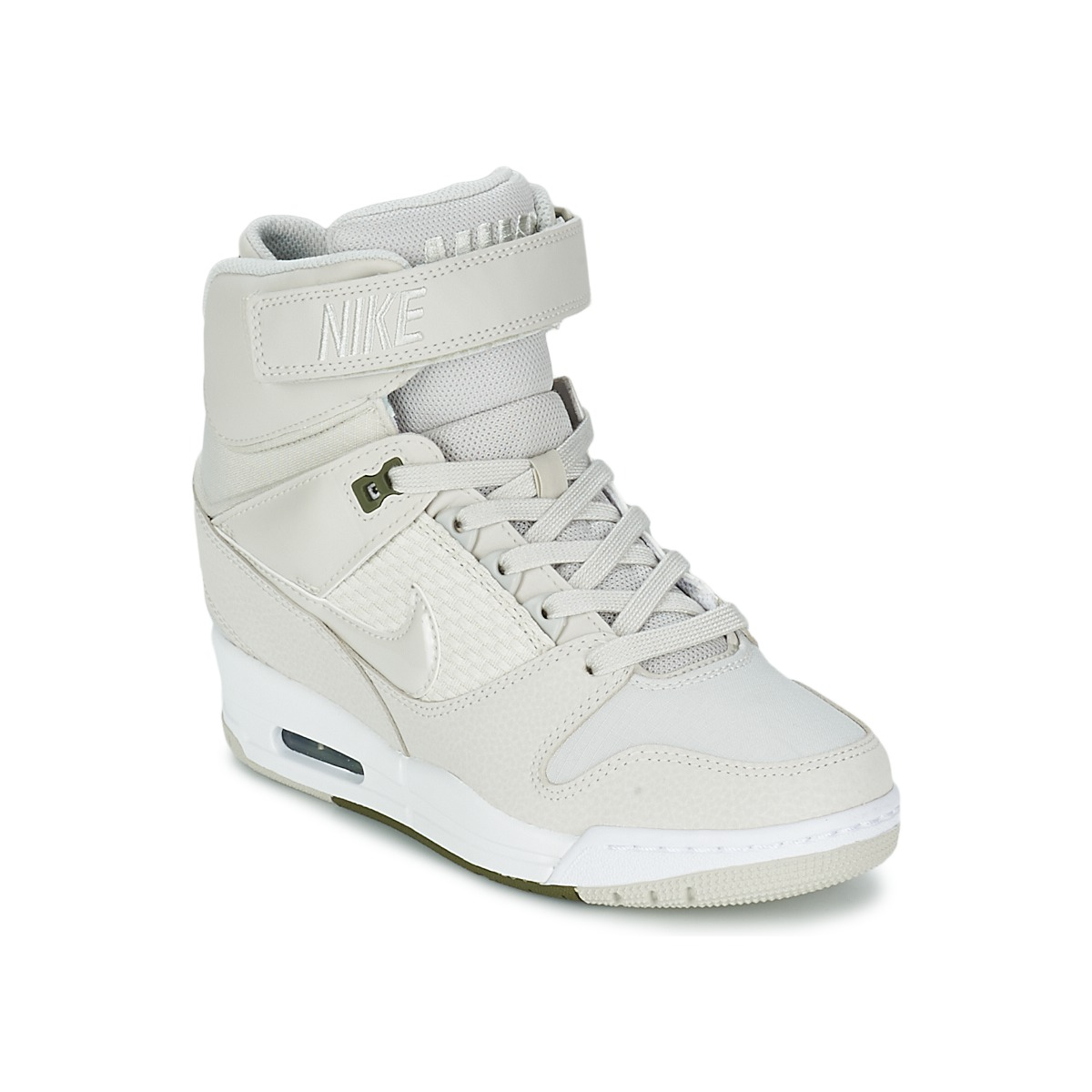 separation shoes a0e4b 0f1cb Baskets montantes Nike AIR REVOLUTION SKY HI Blanc, Baskets Femme ...