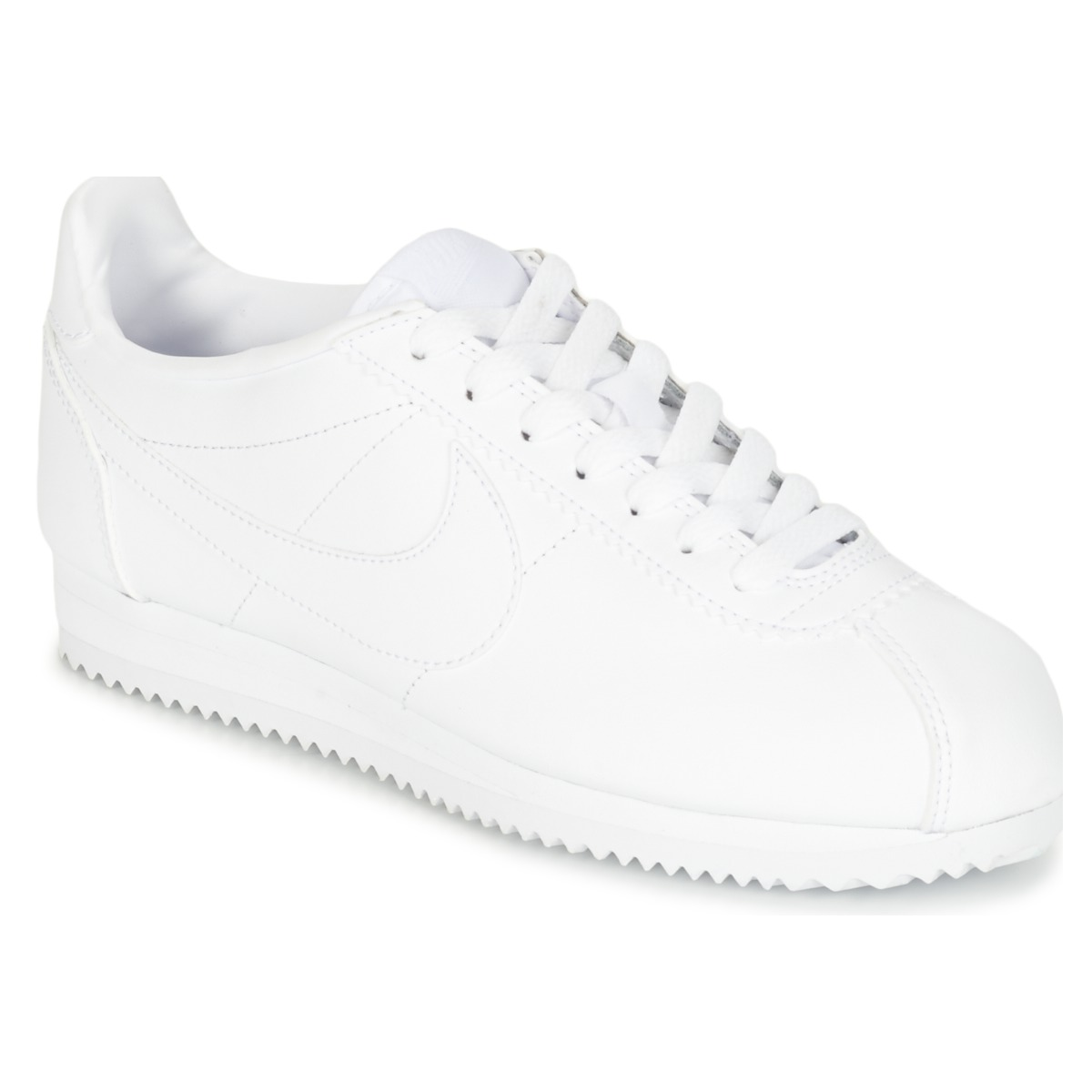Nike CLASSIC CORTEZ LEATHER W Baskets basses Blanc