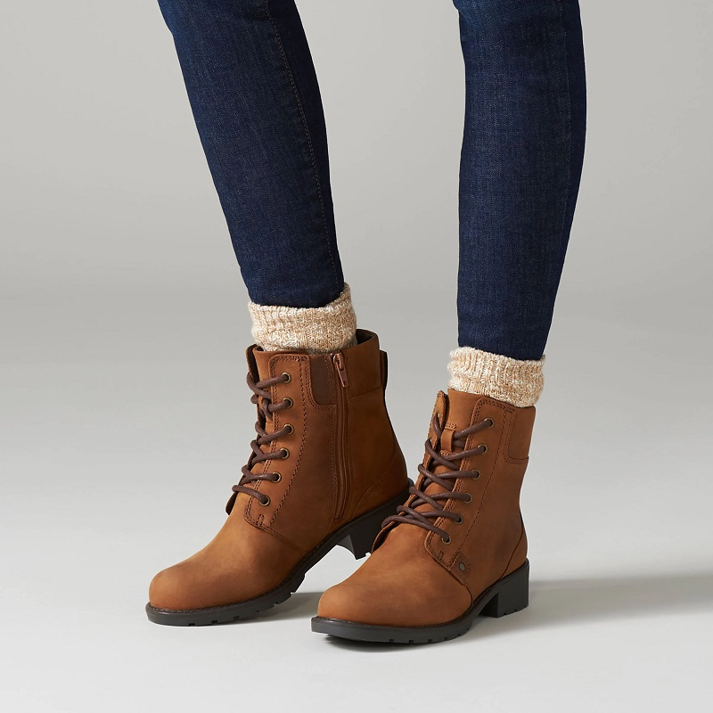 Clarks Orinoco Spice Bottines Marron