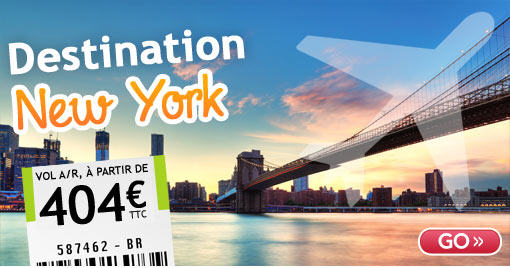 Vol New-York pas cher