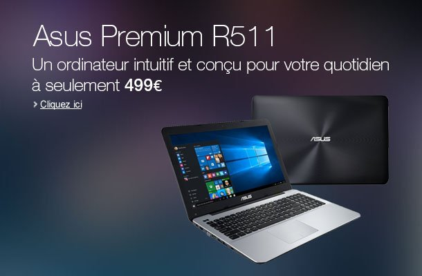Asus Premium R511LA-XO2634T PC portable pas cher - Ordinateur Portable Amazon