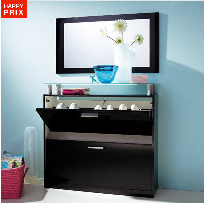 meuble chaussures 3 suisses range chaussures miroir. Black Bedroom Furniture Sets. Home Design Ideas