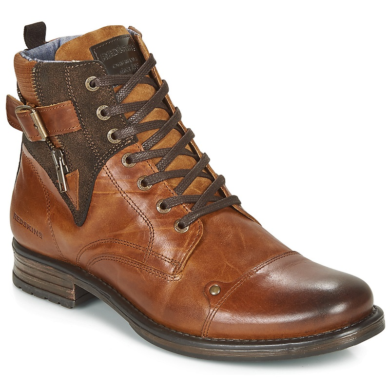Redskins YERO Boots Marron