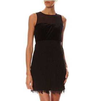 robe noire esprit collection robe brandalley ventes pas. Black Bedroom Furniture Sets. Home Design Ideas