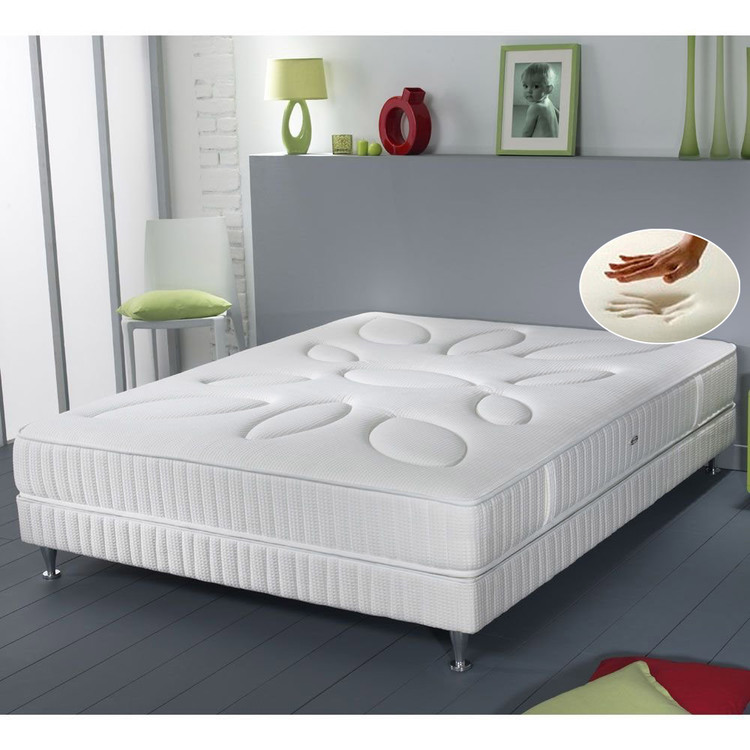 matelas simmons ressorts sensoft pas cher matelas delamaison ventes pas. Black Bedroom Furniture Sets. Home Design Ideas