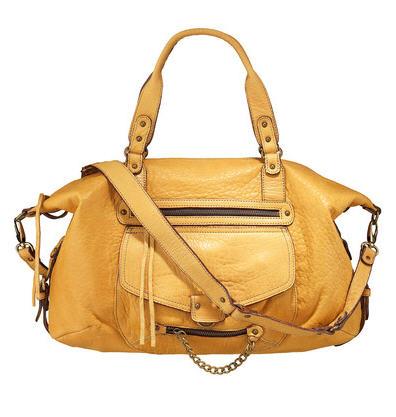 sacs monshowroom sac en cuir odelia java made in france jaune abaco ventes pas. Black Bedroom Furniture Sets. Home Design Ideas