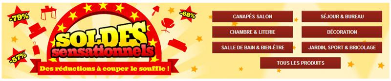 Soldes mobilier jusqu 39 79 sur vente ventes for Soldes mobilier