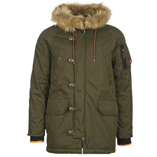 Superdry SDX PARKA Marron