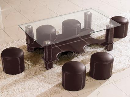 promo table basse vente unique table basse 6 poufs hula hoop prix 199 euros ventes pas. Black Bedroom Furniture Sets. Home Design Ideas