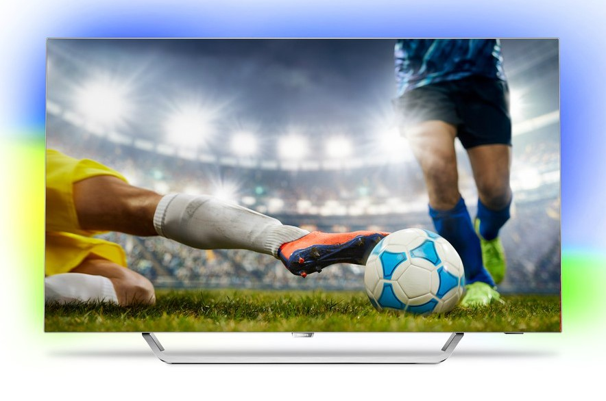 TV Philips 55POS9002 OLED 4K Ambilight 3 côtés Android TV
