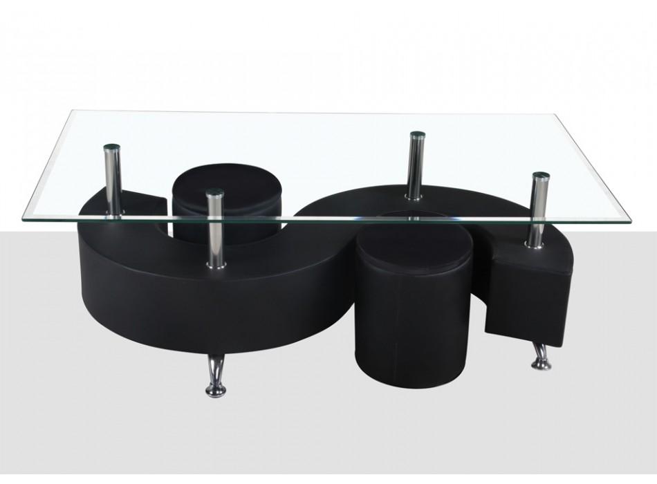 table vente unique promo table basse ying prix 129 euros vente ventes pas. Black Bedroom Furniture Sets. Home Design Ideas